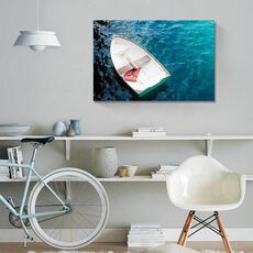 Tablou Canvas - Barca cu vasle I, Apa, Mare, Lac, fig. 1