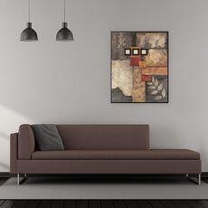 Tablou canvas - Abstract, Modern, Pietre, Frunze, Forme, fig. 2