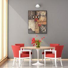 Tablou canvas - Abstract, Modern, Pietre, Frunze, Forme, fig. 4