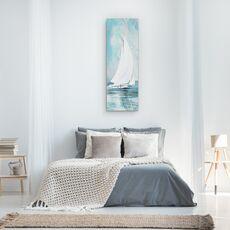 Tablou canvas - Apa, Barca Cu Panze Albe, Pictura, fig. 3