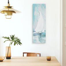 Tablou canvas - Apa, Barca Cu Panze Albe, Pictura, fig. 4
