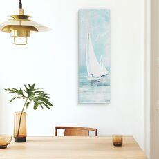Tablou canvas - Apa, Barca Cu Panze, Alb, Pictura, fig. 4