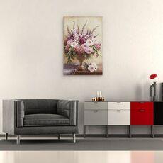 Tablou Canvas - Flori, Natura Vie, Violet, Roz, fig. 2