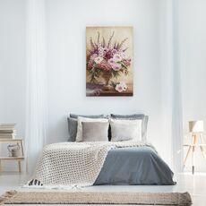 Tablou Canvas - Flori, Natura Vie, Violet, Roz, fig. 3