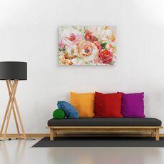 Tablou Canvas - Flori, Vara, Colorate, Pictura, fig. 2