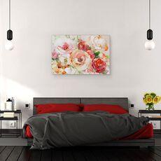 Tablou Canvas - Flori, Vara, Colorate, Pictura, fig. 3