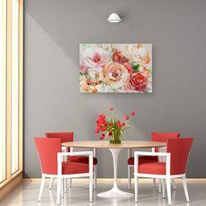 Tablou Canvas - Flori, Vara, Colorate, Pictura, fig. 4