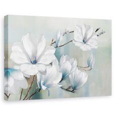 Tablou Canvas - Flori, Magnolia, Primavara, Pictura, fig. 1