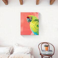Tablou Canvas - Animal, Pasare, Papagal, Verde, fig. 2