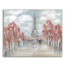 Tablou Canvas - Oras, Paris, Cuplu, Iubire, Toamna, fig. 1