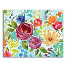 Tablou Canvas - Flori colorate, Floare, Primavara, fig. 1