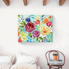 Tablou Canvas - Flori colorate, Floare, Primavara, fig. 2