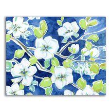 Tablou Canvas - Flori albe, Floare, Primavara, fig. 1