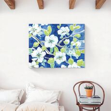 Tablou Canvas - Flori albe, Floare, Primavara, fig. 2