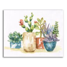 Tablou Canvas - Plante, Cactus, Vaze, Color, fig. 1