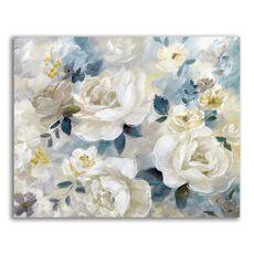 Tablou Canvas - Flori albe, Floare, Bujori, Primavara, fig. 1