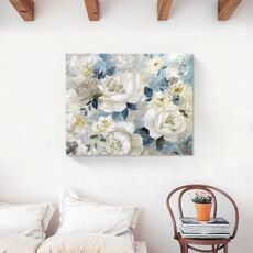 Tablou Canvas - Flori albe, Floare, Bujori, Primavara, fig. 2
