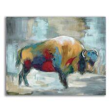 Tablou Canvas - Animal, Bivol, Color, fig. 1