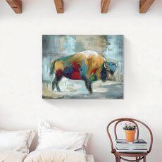 Tablou Canvas - Animal, Bivol, Color, fig. 2