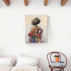 Tablou Canvas - Afro, Figurativ, Modern, Color, fig. 2