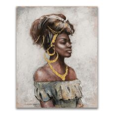 Tablou Canvas - Afro, Figurativ, Modern, fig. 1