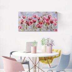 Tablou Canvas - Flori de maci, fig. 1