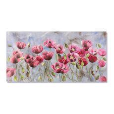 Tablou Canvas - Flori de maci, fig. 2