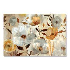 Tablou Canvas - Flori de Maci Aurii si Albe, fig. 1