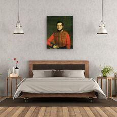 Tablou Canvas - A. Chelyshev - Portretul Poetului Michail Lermontov, fig. 3