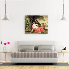 Tablou Canvas - A. Janssens - Venus si Adonis, fig. 3