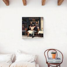 Tablou Canvas - Vintage, Restaurant, Paris, Romantic, fig. 2