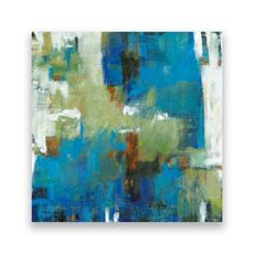 Tablou Canvas - Abstract II, Albastru, Verde, fig. 1