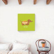 Tablou Canvas - Animal, Catelus, Citat, Dachshund, fig. 2