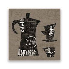 Tablou Canvas - Cafea, Ceasca, Vintage, fig. 1