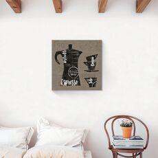 Tablou Canvas - Cafea, Ceasca, Vintage, fig. 2