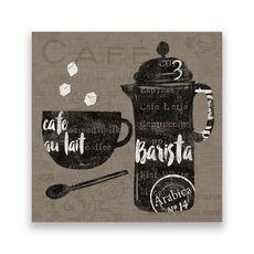 Tablou Canvas - Cafea, Ceasca, Vintage, Barista, fig. 1