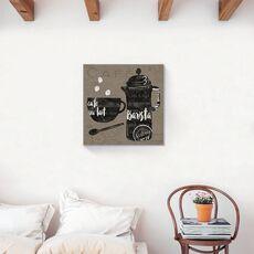 Tablou Canvas - Cafea, Ceasca, Vintage, Barista, fig. 2