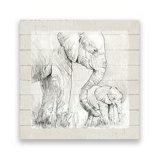 Tablou Canvas - Animal, Elefant, Africa, fig. 1