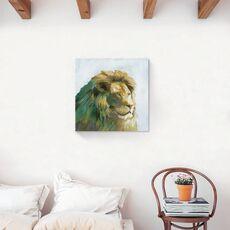 Tablou Canvas - Animal, Leu, Africa, Pictura, fig. 2