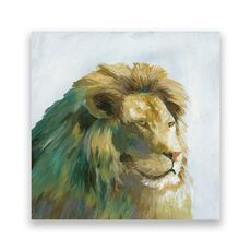 Tablou Canvas - Animal, Leu, Africa, Pictura, fig. 1