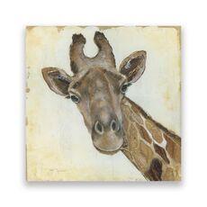 Tablou Canvas - Animal, Girafa, Africa, Pictura, fig. 1