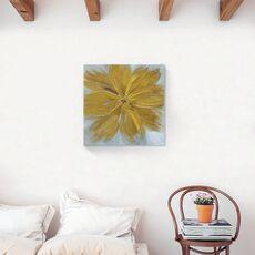 Tablou Canvas - Floral, Flori, Galben, fig. 2