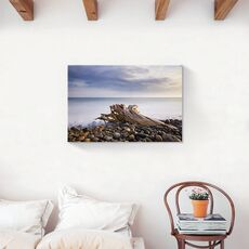 Tablou Canvas - Ocean, Ceata, Pietre, fig. 2