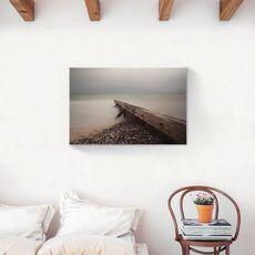Tablou Canvas - Scoici, Ceata, Ocean, fig. 2
