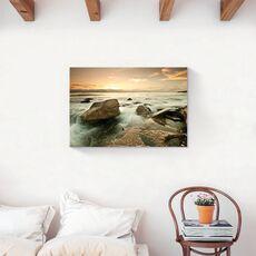 Tablou Canvas - Stinca, Ocean, Apus, fig. 2