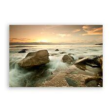 Tablou Canvas - Stinca, Ocean, Apus, fig. 1