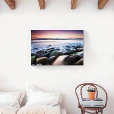 Tablou Canvas - Pietre, Stinca, Ocean, Apus, fig. 2
