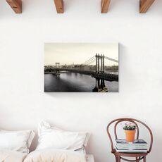 Tablou Canvas - Brooklyn Bridge, Pod, Oras, Cladiri, Arhitectura, fig. 2