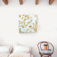 Tablou Canvas - Botanica, Frunza, Pictura, Toamna, fig. 2