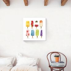 Tablou Canvas - Inghetata I, Modern, Pictura, Multicolor, fig. 2